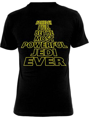 Star Wars Most Powerful Jedi Herren T-Shirt schwarz – Bild 1