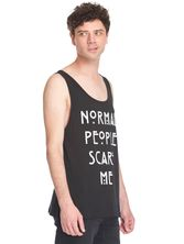 American Horror Story Normal People Scare Me Sleeveless Men Tee Shirt black – Bild 2