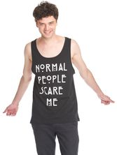 American Horror Story Normal People Scare Me Sleeveless Men Tee Shirt black – Bild 3