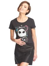 The Nightmare Before Christmas Jack Is Back tee for women black – Bild 1