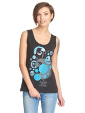 Nightmare Before Christmas Nightmares Girl Top black – Bild 0