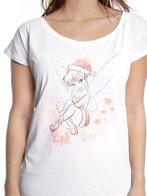 Tinkerbell Weihnachten Damen Shirt – Bild 3