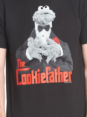 Sesame Street The Cookiefather T-Shirt black – Bild 3