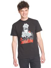 Sesame Street The Cookiefather Tee black – Bild 1