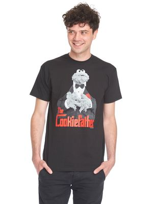 Sesame Street The Cookiefather T-Shirt black – Bild 0