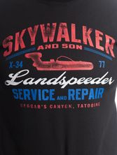 Star Wars Landspeeder T-Shirt black – Bild 2