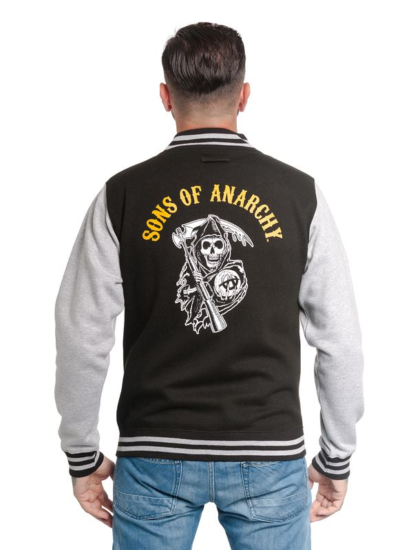 Sons of Anarchy Orange Reaper College Jacket – Bild 4