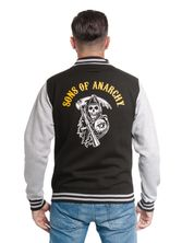 Sons of Anarchy Orange Reaper College Jacket – Bild 3