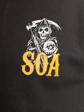 Sons of Anarchy Orange Reaper College Jacket – Bild 2