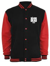 The Walking Dead Wings College Jacket black/red – Bild 0