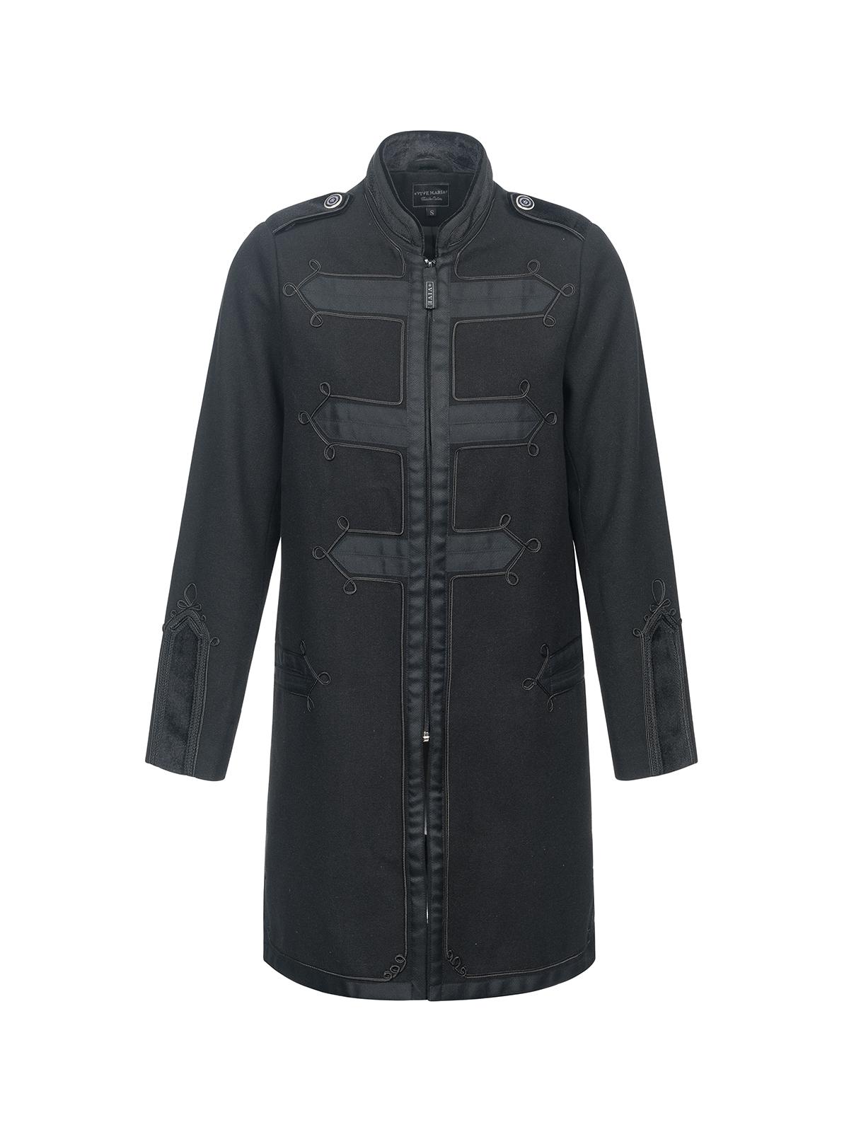 Jacken - Vive Maria Chic Classic Damen Mantel schwarz – Größe L  - Onlineshop NAPO Shop