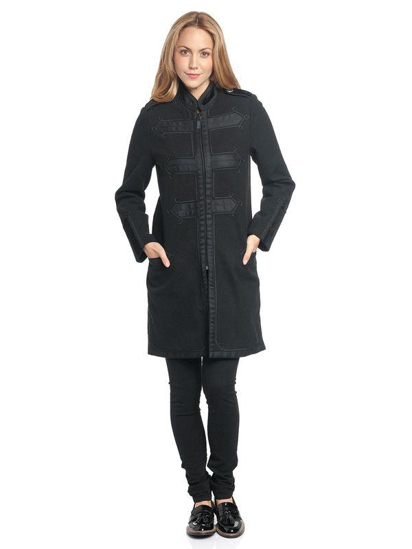 Vive Maria Chic Classic Damen Mantel schwarz – Bild 2