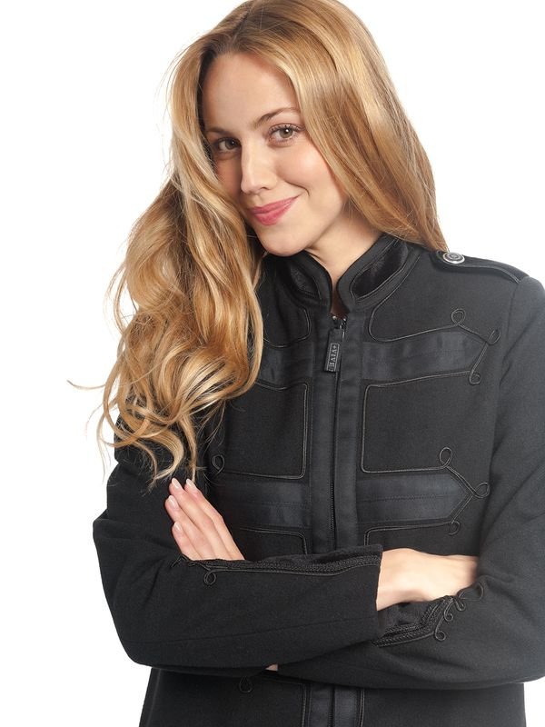 Vive Maria Chic Classic Damen Mantel schwarz – Bild 3