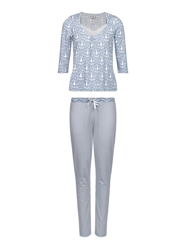 Vive Maria Meets Alice in Wonderland My Blue Wonderland Pyjama blue allover Ansicht