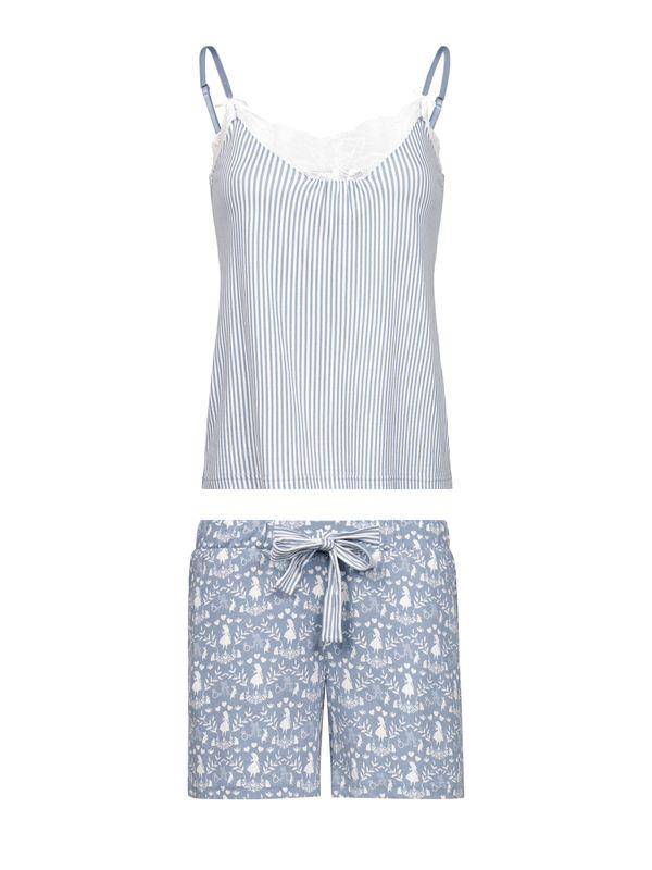 Vive Maria Meets Alice in Wonderland My Blue W. Short Pyjama blue allover – Bild 0
