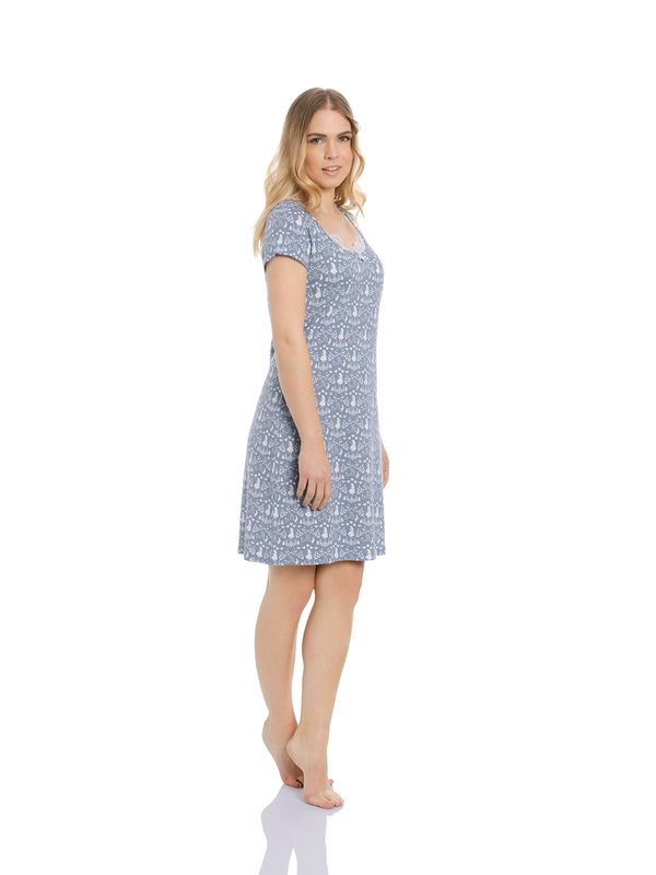 Vive Maria Meets Alice in Wonderland Falling In W. Nightdress blue allover – Bild 2