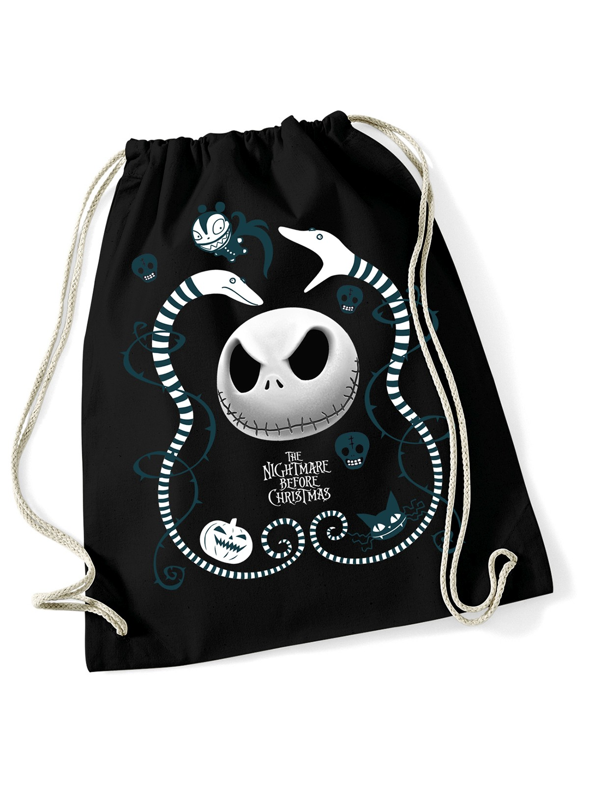 The Nightmare Before Christmas Snake Charmer Gym Bag black Women ...