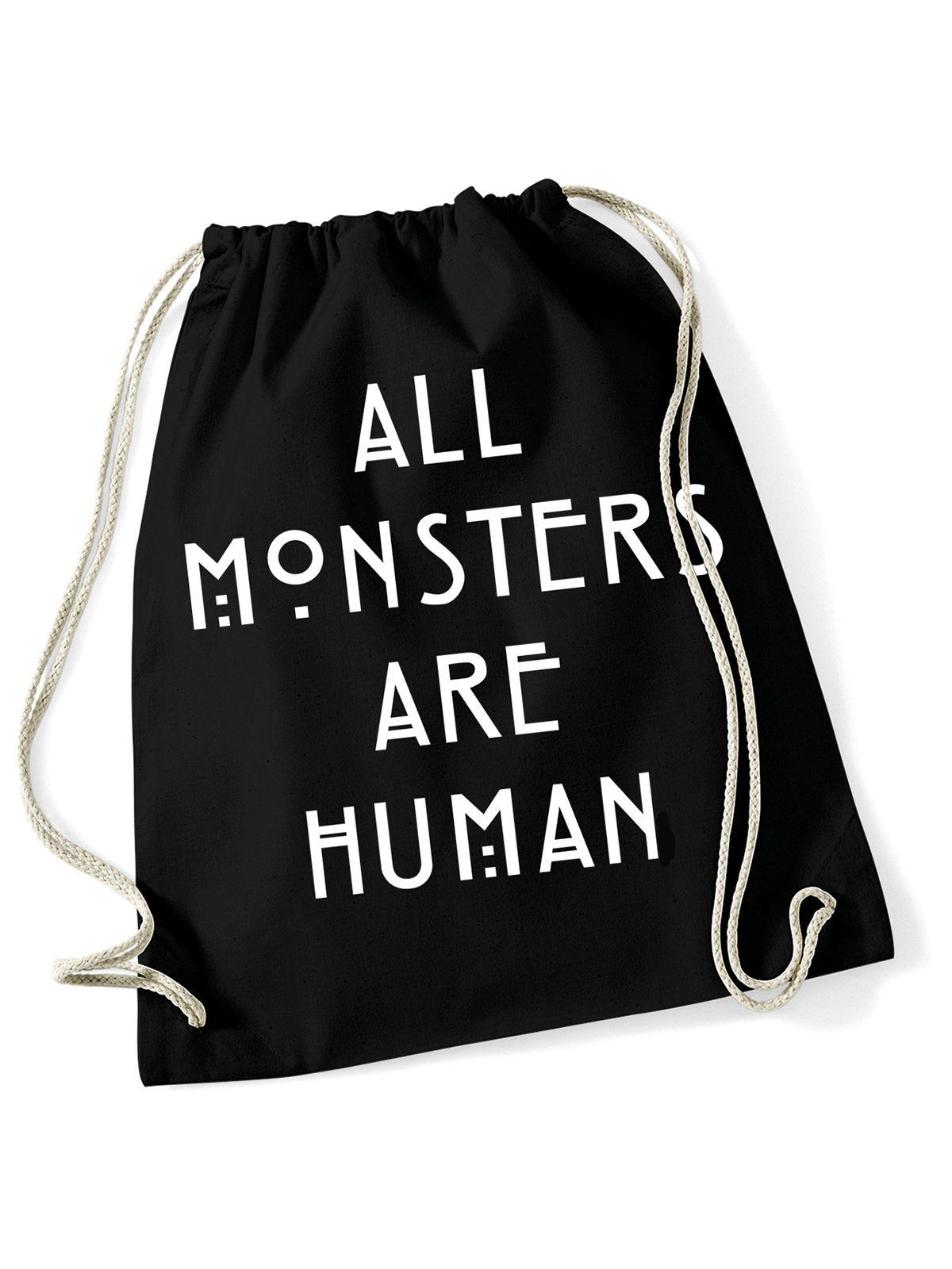 Sporttaschen - American Horror Story All Monsters Turnbeutel schwarz  - Onlineshop NAPO Shop