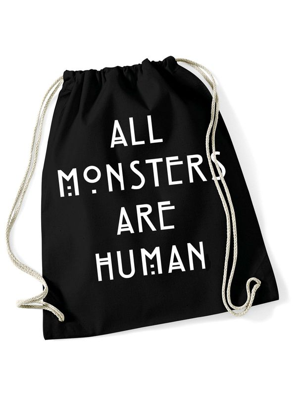 American Horror Story All Monsters Gym Bag Black view