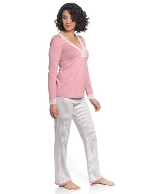 Vive Maria Strawberry Night Pyjama coral/allover – Bild 1