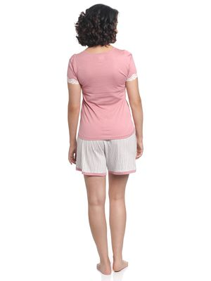 Vive Maria Strawberry Girl Short Pyjama coral/allover – Bild 2