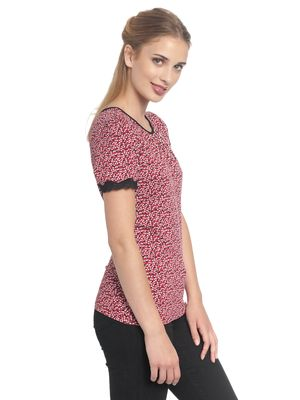 Vive Maria Loving Me Shirt red allover – Bild 2