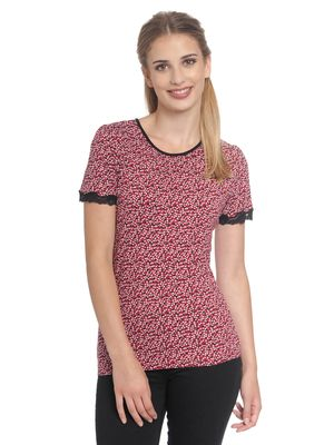 Vive Maria Loving Me Shirt red allover – Bild 1
