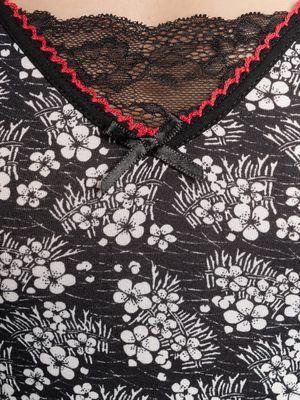 Vive Maria Sweet China Flower Shirt schwarz allover – Bild 3