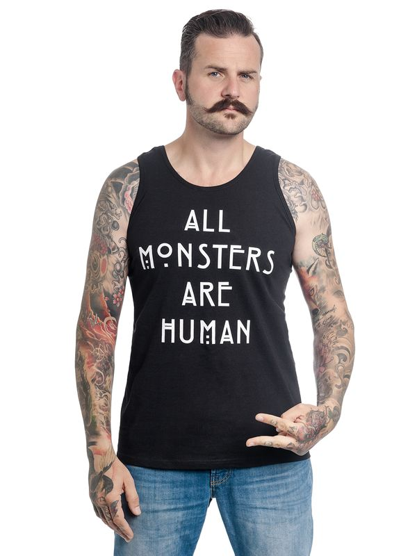 American Horror Story All Monsters Top male black view