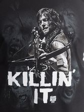 The Walking Dead Killin' It Top male black – Bild 2