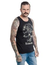 The Walking Dead Skull Top male black – Bild 1