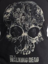 The Walking Dead Skull Top male black – Bild 2