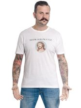 VIVE MARIA Thanks God I'm A VIP Herren Shirt white – Bild 1