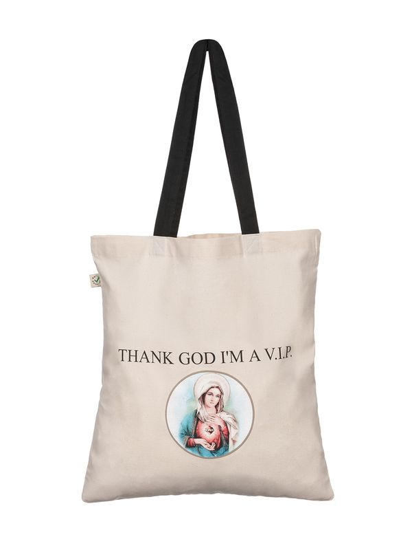 Vive Maria Thanks God I'm A VIP Maria Bag natur/black – Bild 1