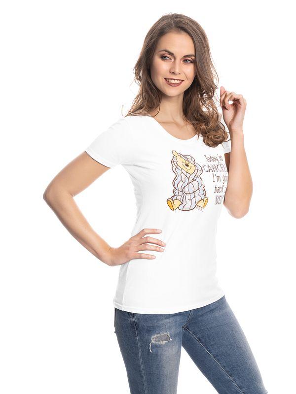 Winnie the Pooh Winnie The Pooh Back To Bad Girl Tee white – Bild 2