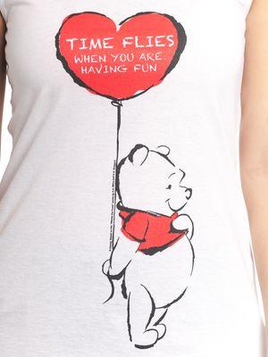 Winnie the Pooh Winnie The Pooh Time Flies Girl Top white – Bild 2