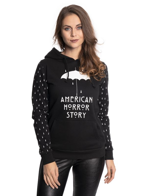 American Horror Story AHS Umbrella Girl Hoodie black – Bild 1