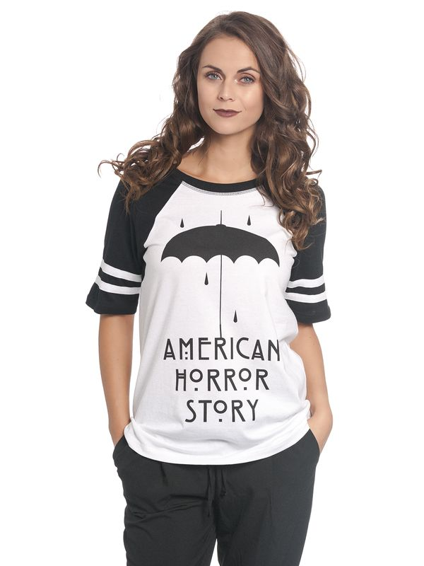 American Horror Story Umbrella Raglan Tee for Women view