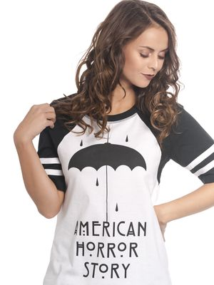 American Horror Story Umbrella Raglan Damen T-Shirt  – Bild 1