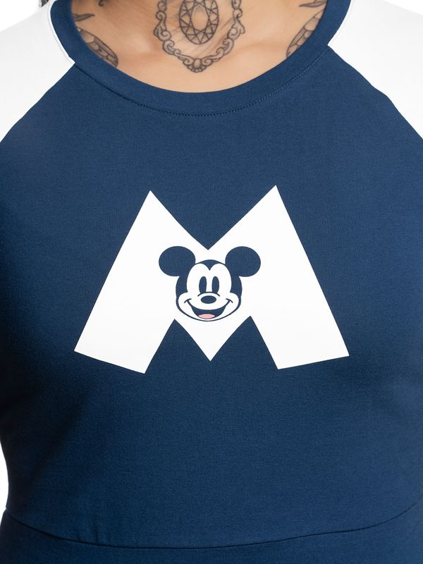 Disney Mickey Mouse M College Dress navy/white – Bild 4