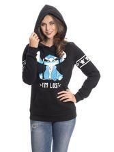 Lilo & Stitch I'm Lost Girl Hoodie black – Bild 3