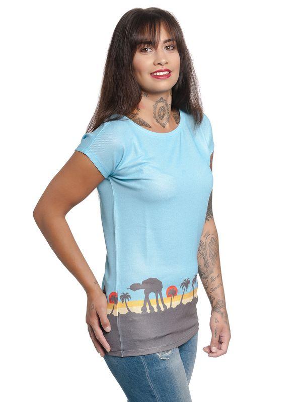 Star Wars Scarif Damen Shirt allover-Print – Bild 2