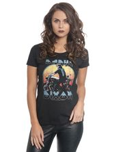 The Walking Dead Dixon Metal Tee for Women Black – Bild 0