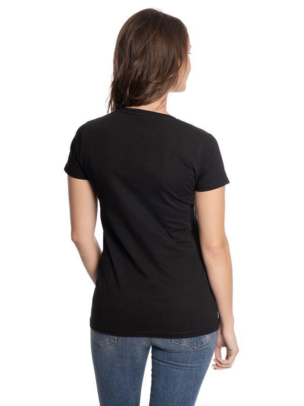 Dragons Toothless Blue Outlines Frauen Shirt schwarz – Bild 2