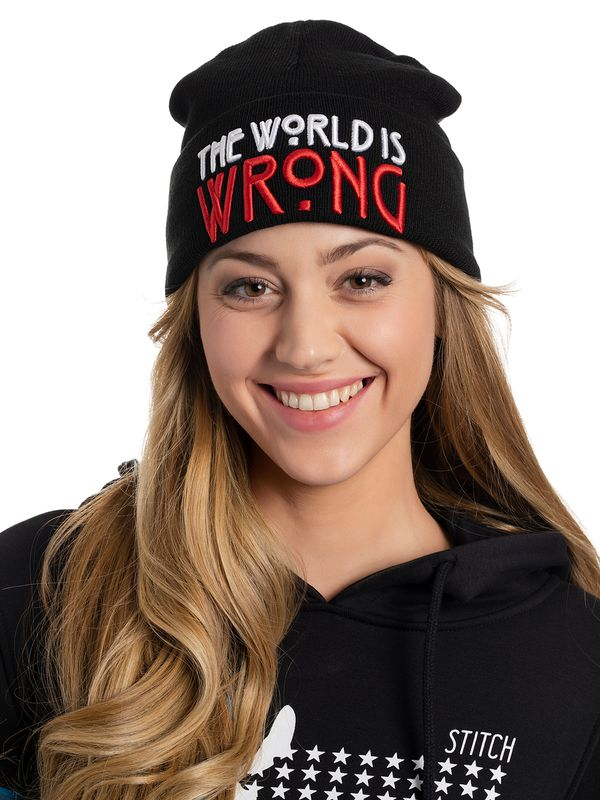 American Horror Story The World Is Wrong Strickmütze schwarz Ansicht