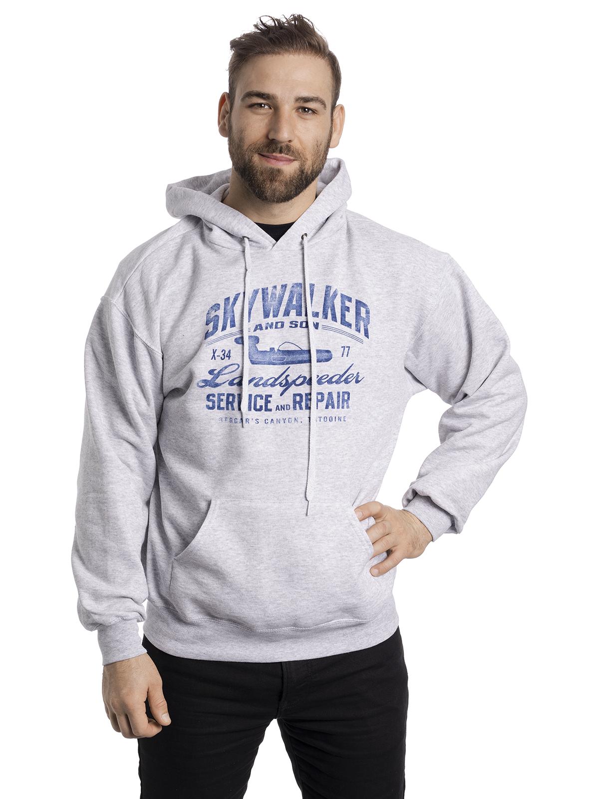 Nützlichfanartikel - Star Wars Skywalker Hooded Sweater grau meliert – Größe L - Onlineshop NAPO Shop