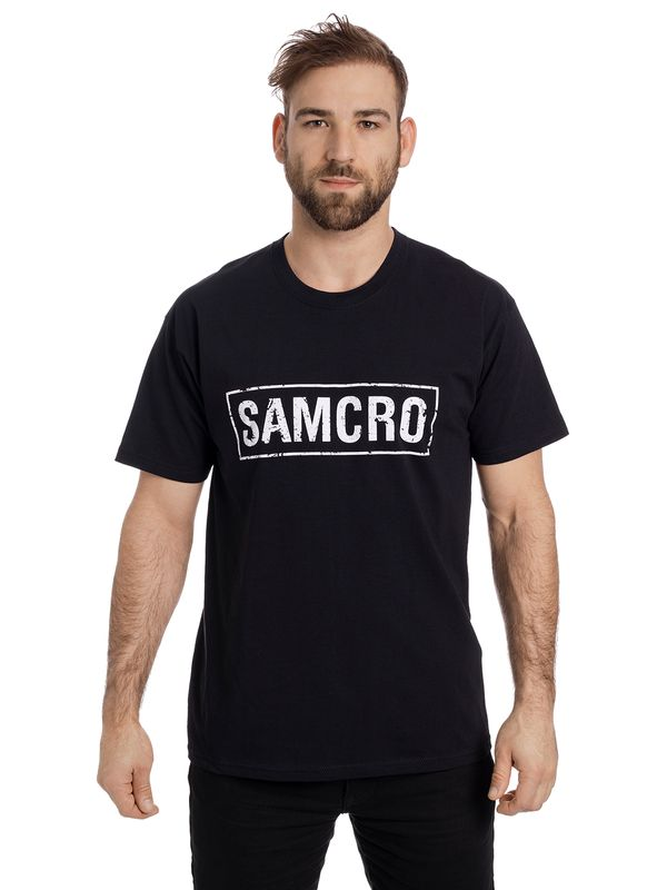 Sons of Anarchy Black Samcro T-Shirt schwarz Ansicht