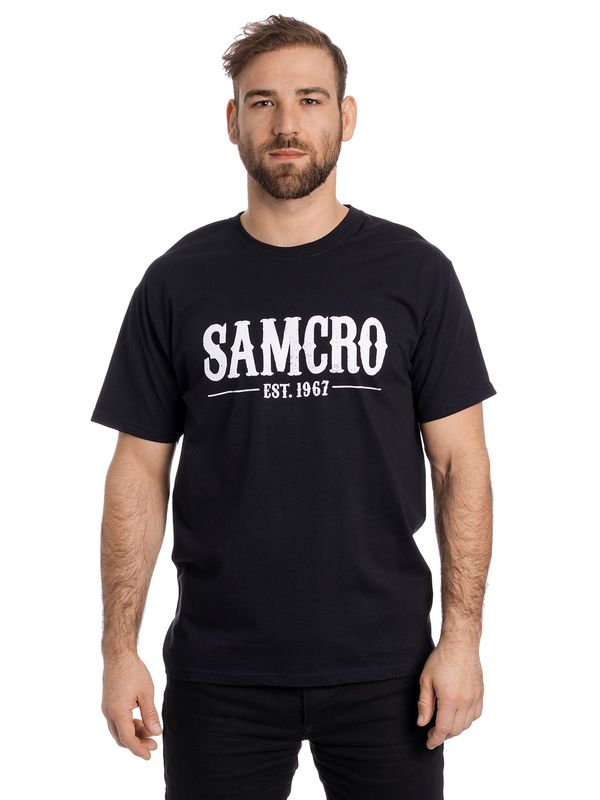 Sons of Anarchy Samcro Est. 1967 T-Shirt schwarz Ansicht