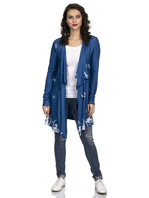 Aladdin Flying Perser Cardigan blue Ansicht