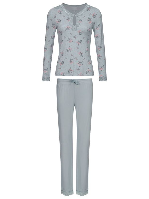 Vive Maria Ice Flower Pyjama pearl blue / pearl blue allover Ansicht